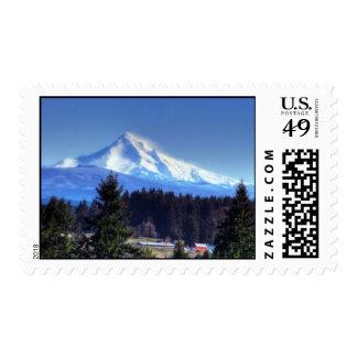 snowy Mt Hood Postage