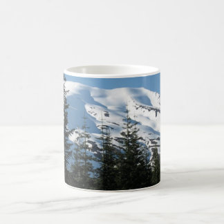 Snowy Mt St Helens From its Base Classic White Coffee Mug