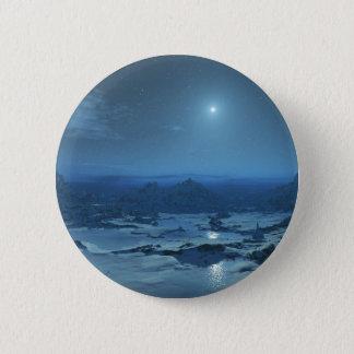 Snowy Night Button