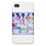 Snowy night covers for iPhone 4