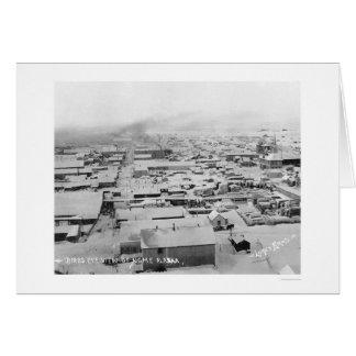 Snowy Nome, Alaska Birdseye 1924 Card