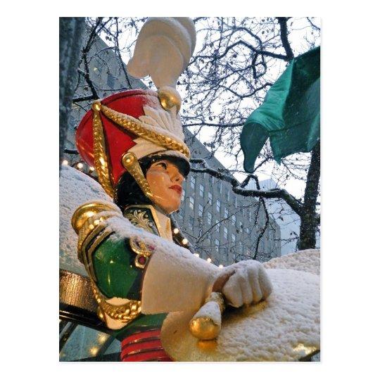 Snowy Nutcracker Postcard