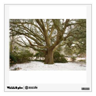 Snowy Oak Wall Sticker