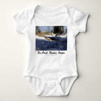 Snowy Oregon Forest, Fox Creek 7 T-shirt