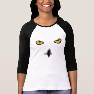 Snowy owl 3/4 sleeve T-Shirt