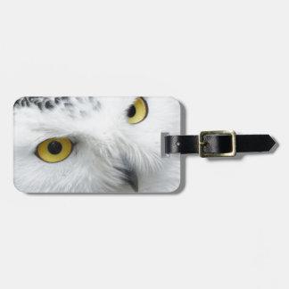 Snowy Owl Bag Tags