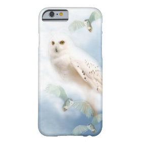 Snowy Owl Barely There iPhone 6 Case