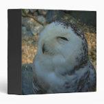 Snowy Owl Binder
