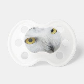 Snowy Owl BooginHead Pacifier
