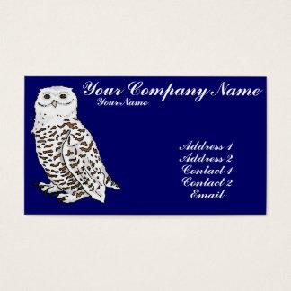 Snowy Owl Business Card