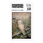 SNOWY OWL by SHARON SHARPE Postage