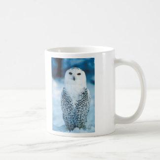 Snowy Owl Classic White Coffee Mug