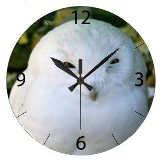 Snowy Owl Clock