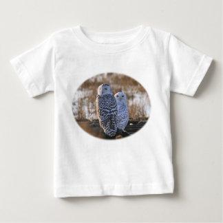 Snowy Owl Couple Infant T-shirt