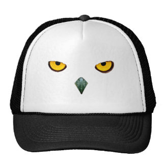 Snowy Owl Eyes Hats