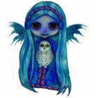 Snowy Owl Fairy Sculpture