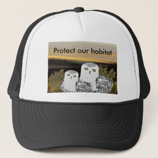 Snowy Owl Habitat Protection Hat