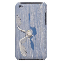 Snowy Owl in flight. Barely There iPod Case