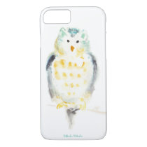 Snowy Owl in Watercolor iPhone 7 Case