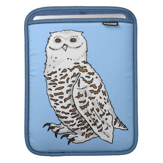 Snowy Owl iPad Sleeve