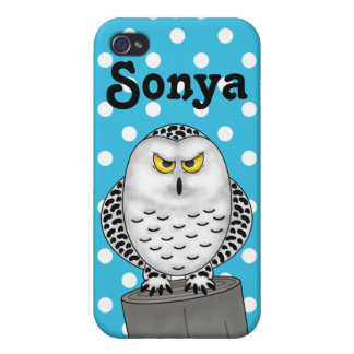 Snowy Owl iPhone 4/4S Cover