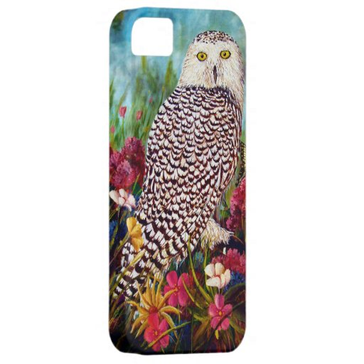 Snowy Owl iPhone 5 Covers