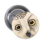 Snowy Owl, John James Audubon Pins