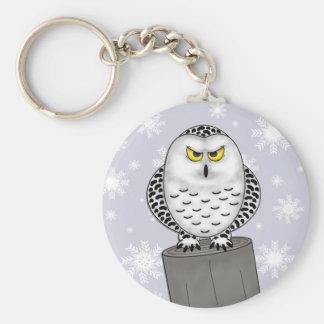 Snowy Owl Keychain