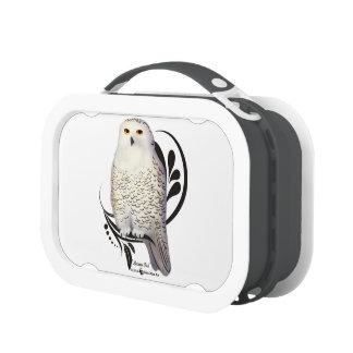 Snowy Owl Yubo Lunchbox