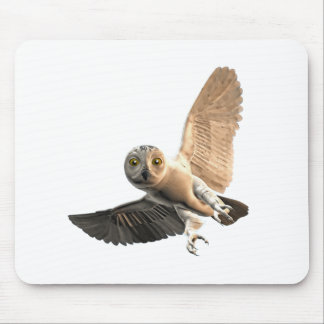 Snowy Owl Male Mouse Pads