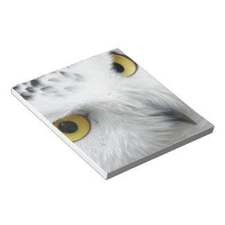 Snowy Owl Memo Pad