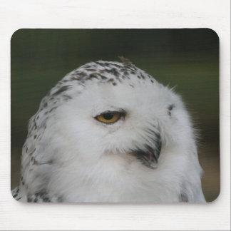 Snowy Owl Mouse Mat