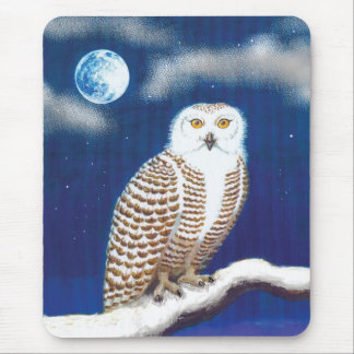 Snowy Owl Mouse Mats