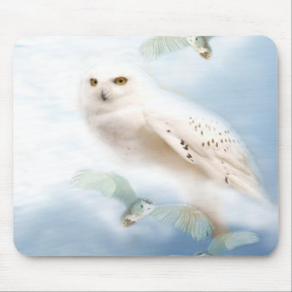 Snowy Owl Mousepads