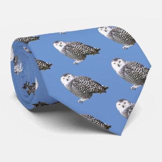 Snowy Owl Neck Tie