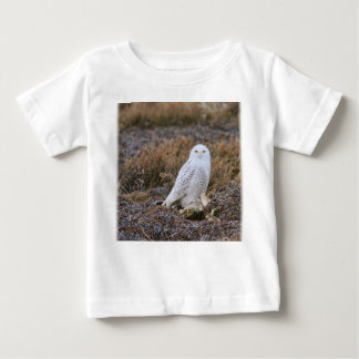 Snowy Owl Photo Baby T-Shirt