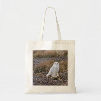 Snowy Owl Photo Tote Bag