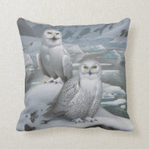 Snowy owl Pillow