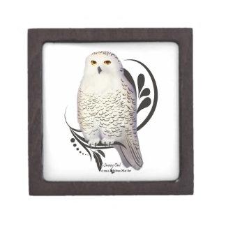 Snowy Owl Premium Trinket Boxes