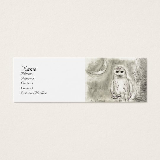 Snowy owl Profile Card