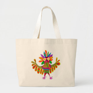 Snowy Owl Sam Who Went to Mardi Gras Tote Bag