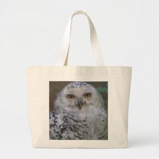Snowy Owl, Schnee-Eule Jumbo Tote Bag