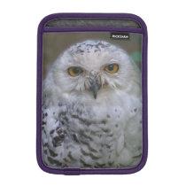 Snowy Owl, Schnee-Eule Sleeve For iPad Mini