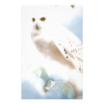 Snowy Owl Stationery