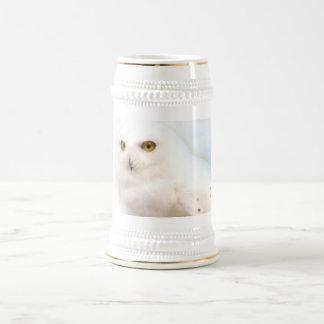 Snowy Owl Stein