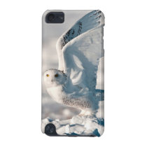 Snowy Owl taking off from snow iPod Touch 5G Cover