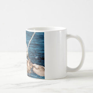 Snowy Owl Too Late Coffee Mug
