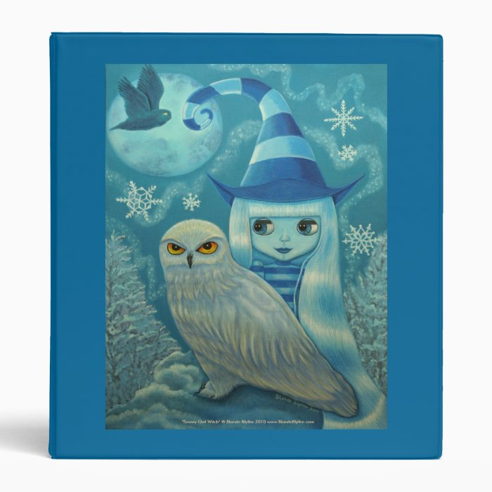 Snowy Owl Witch Binder