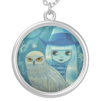 Snowy Owl Witch Necklace