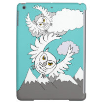 snowy owls above mountains iPad Air Savvy case iPad Air Covers